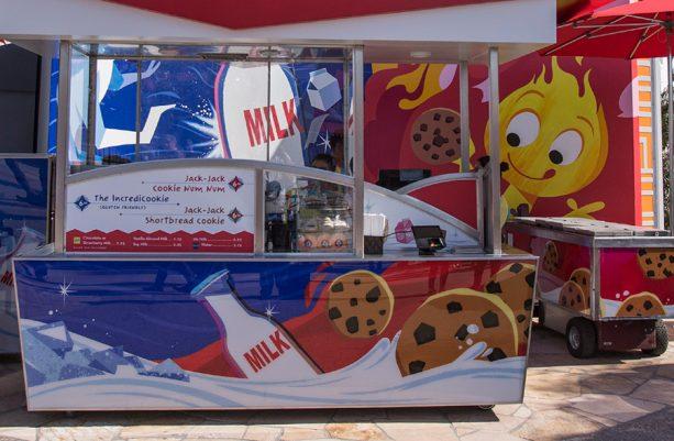 Cookie and Milk at Pixar Pier at Disney California Adventure park