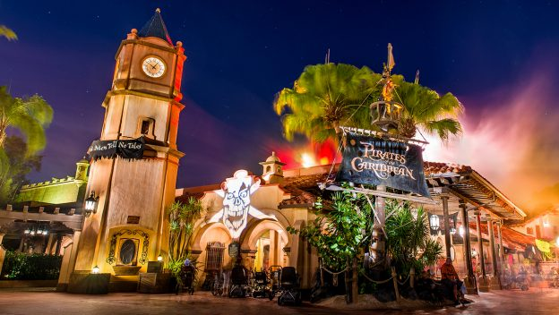 Pirates of the Caribbean at Mickey's Not-So-Scary Halloween Party at Walt Disney World Resort