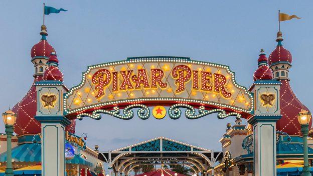 Pixar Pier is now open at Disney California Adventure park