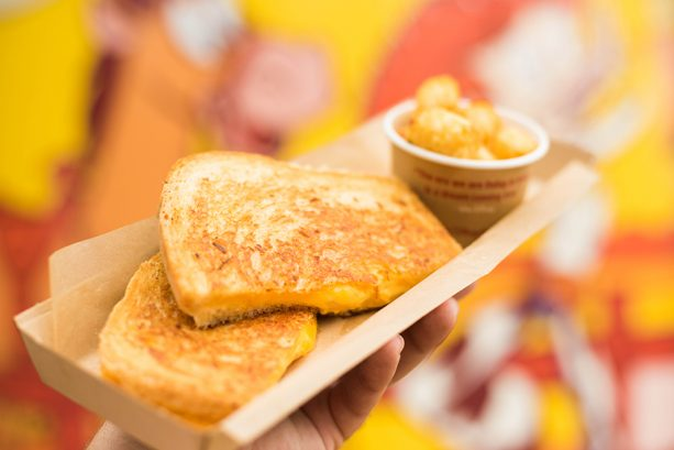 Grilled Three-Cheese Sandwich at Woody's Lunch Box at Toy Story Land at Disney's Hollywood Studios