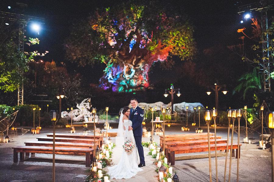 Disney's Fairy Tale Wedding at the Tree of Life