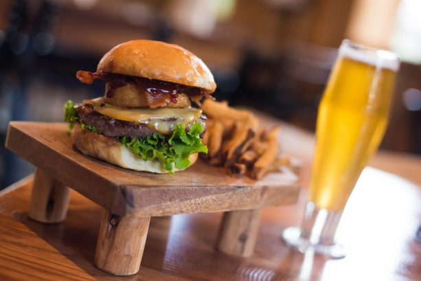 Barbecue Burger at D-Luxe Burger for Disney Springs Brews and BBQ