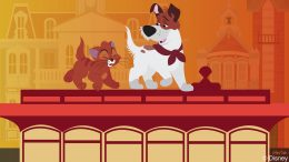 Disney Doodle: Oliver & Dodger at Magic Kingdom Park