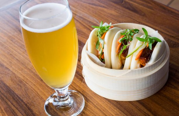 Jock's Pork Belly Bao Buns at Jock Lindsey's Hangar Bar for Disney Springs Brews and BBQ