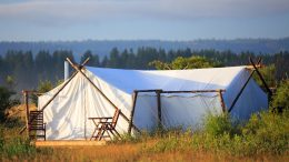 Glamping on Adventures by Disney North America vacation