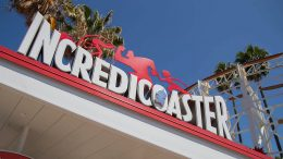 Incredicoaster in Pixar Pier at Disney California Adventure park