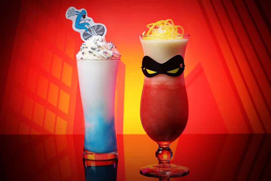 Incredibles-themed specialty drink at Hong Kong Disneyland