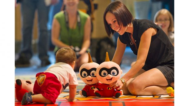 Jack Jack's Incredible Diaper Dash on Disney Cruise Line ships
