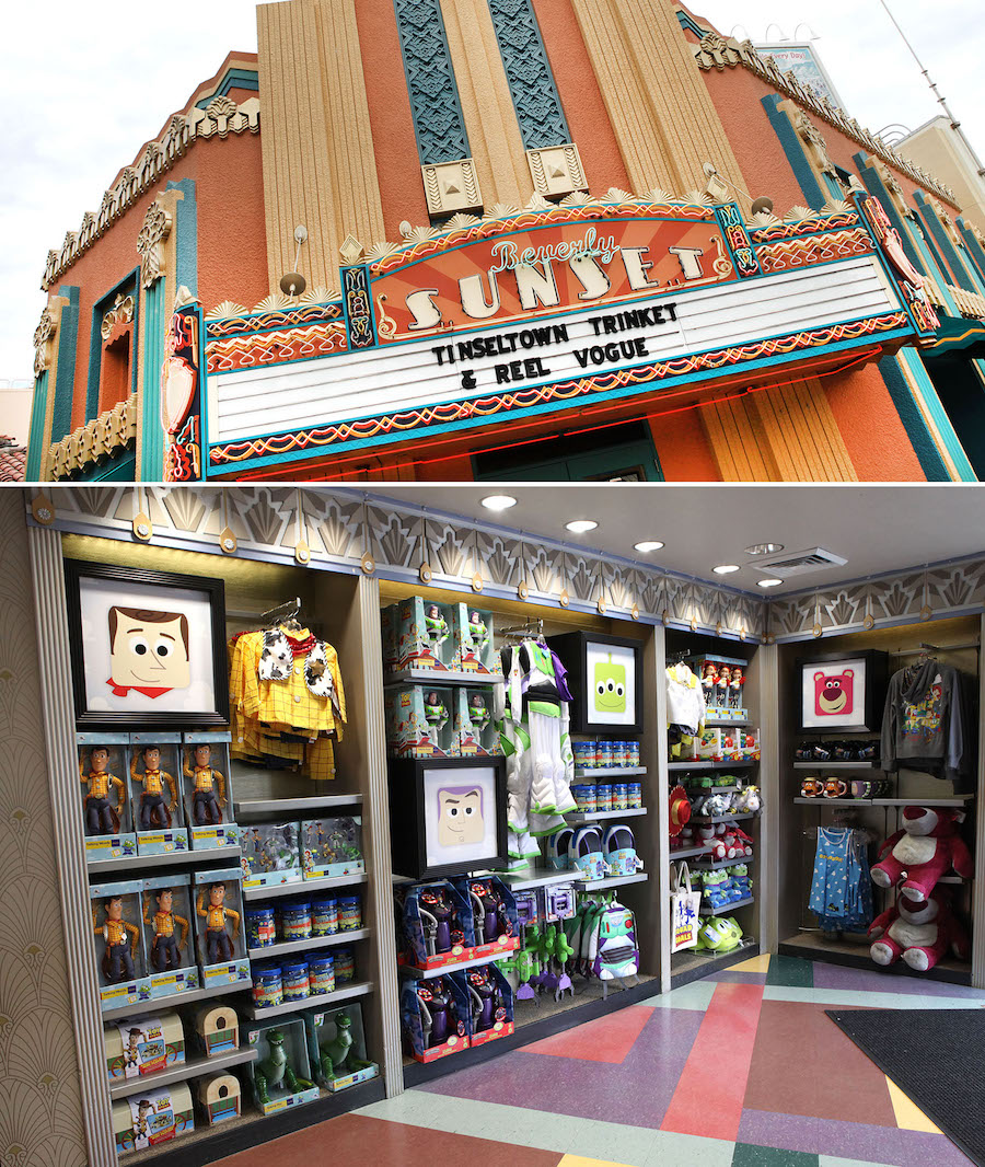 Beverly Sunset Shop at Disney's Hollywood Studios