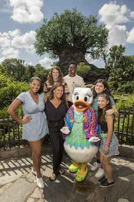 Actress Vanessa Williams and Family Visit Disney's Animal Kingdom