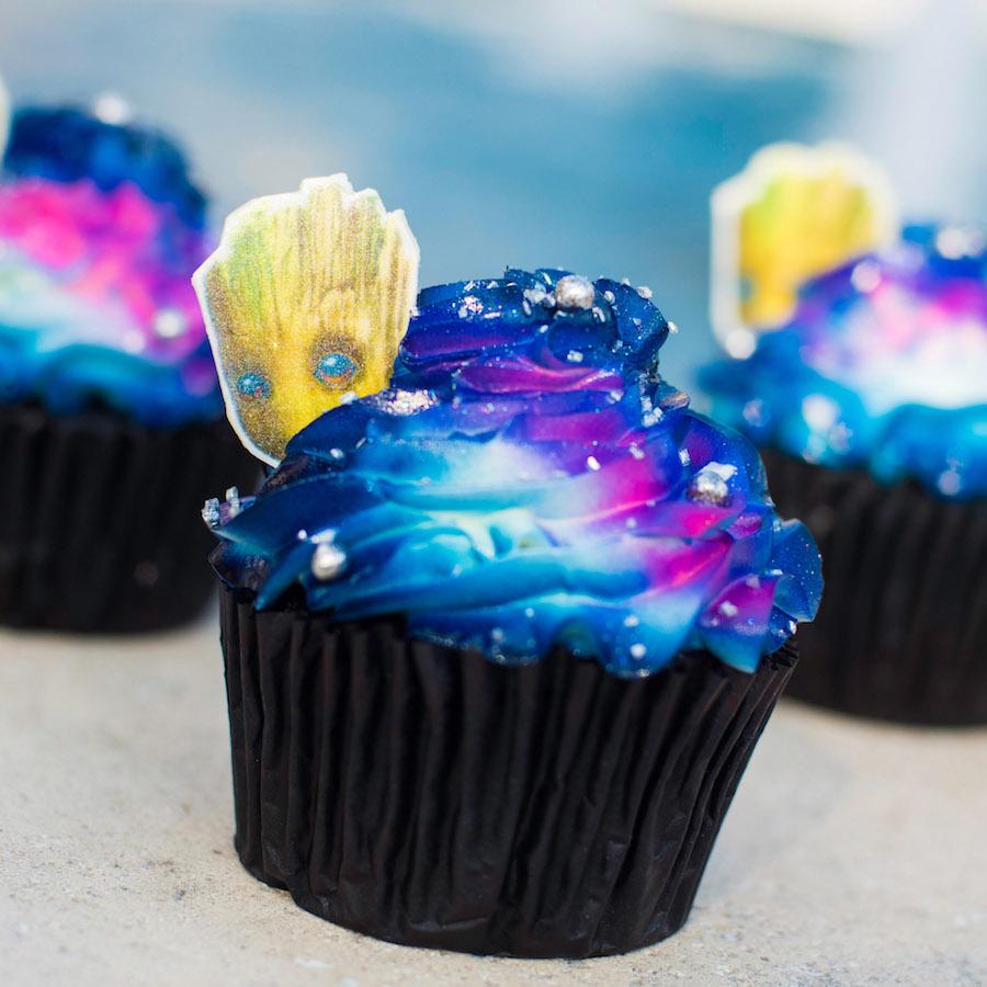 Galaxy Cupcake