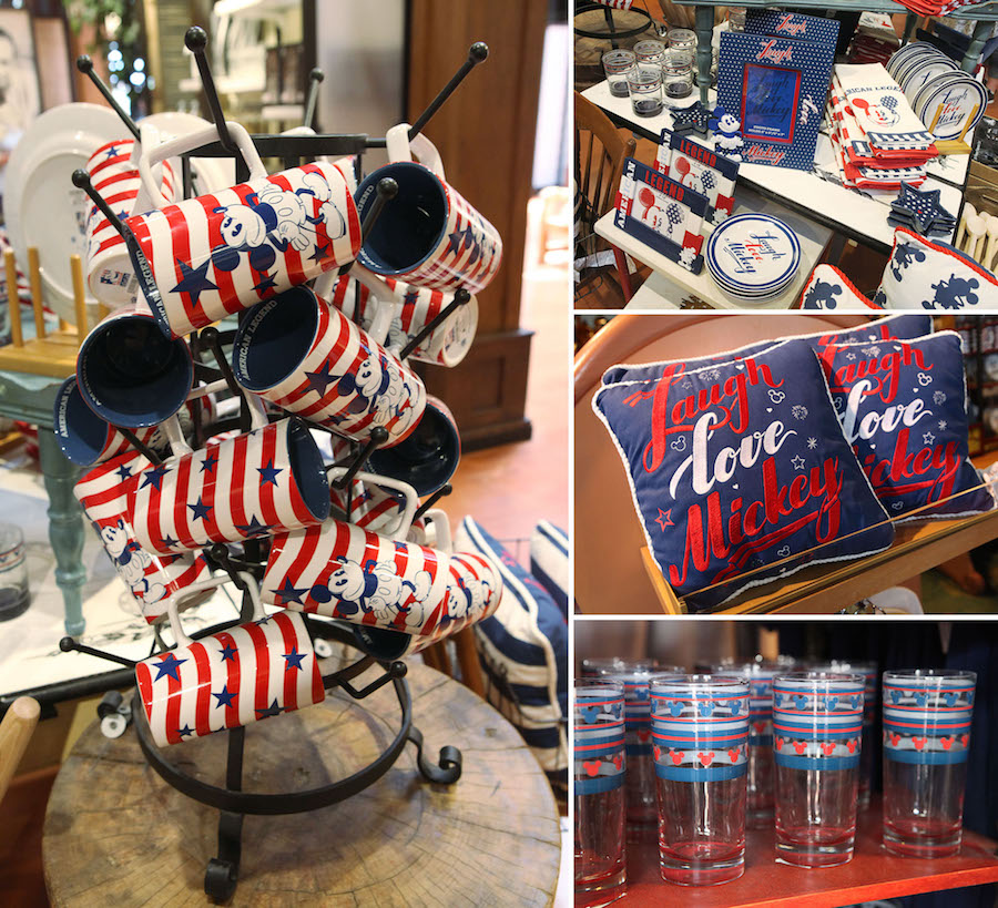 Star-Spangled Americana Collection Available at Disney Parks