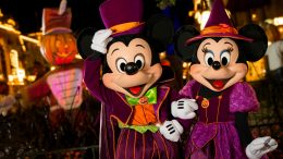 Mickey and Minnie at Mickey's Not-So-Scary Halloween Party at Magic Kingdom Park