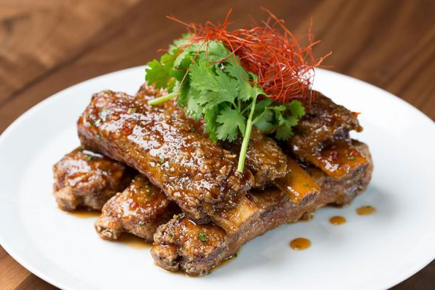 Morimoto Spare Ribs at Morimoto for Disney Springs Brews and BBQ
