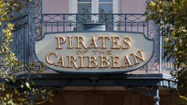 Pirates of the Caribbean at Disneyland Park