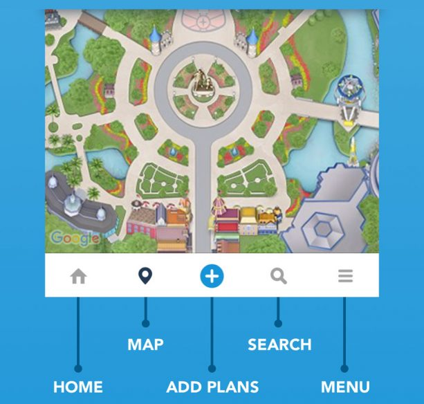 My Disney Experience mobile app