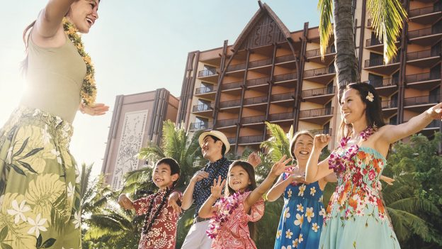 Making new friends at Aulani, a Disney Resort & Spa