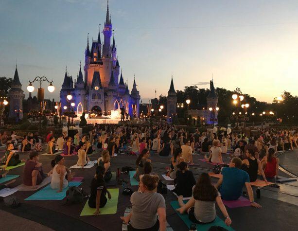 Celebrating International Yoga Day at Walt Disney World Resort