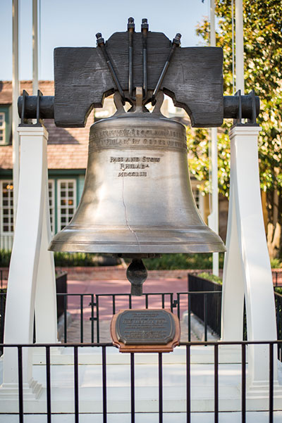Liberty Bell in Liberty Square, Walt Disney World Resort