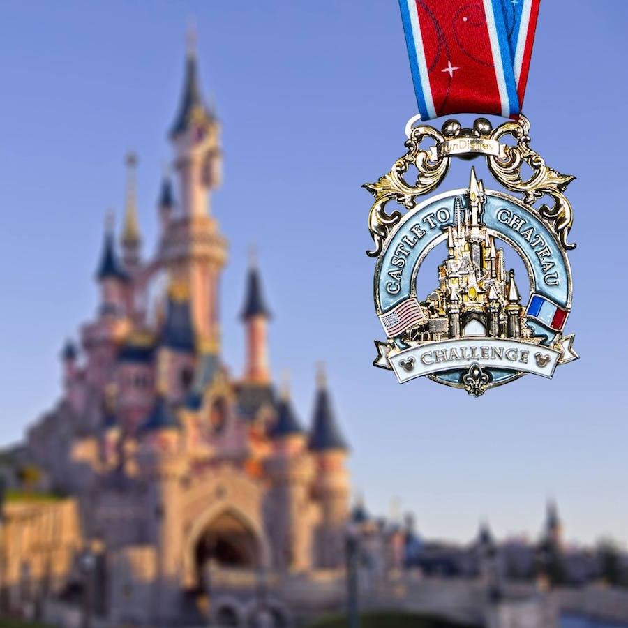 Disney Live Cams Rundisney Medal Reveal 2018 Disneyland Paris