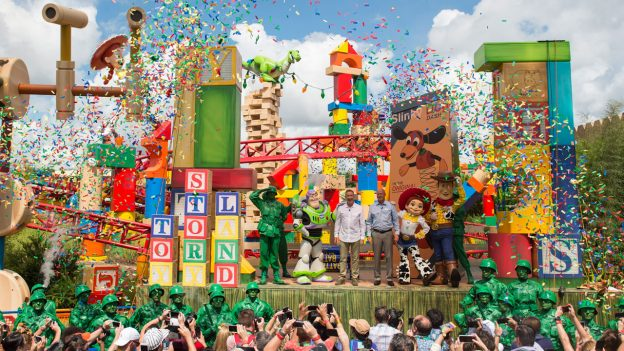 Toy Story Land Dedication Ceremony at Disney's Hollywood Studios