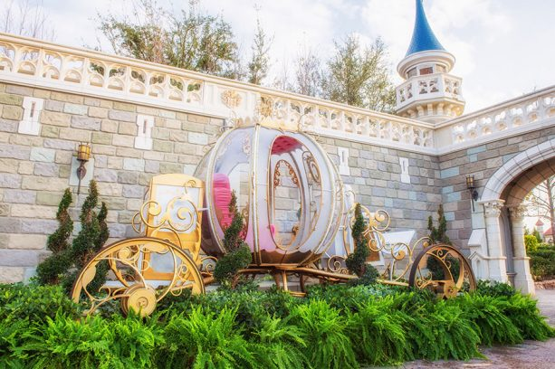 Cinderella's Coach in Fantasyland, Walt Disney World Resort