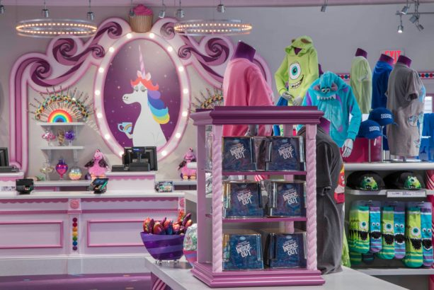 Merchandise in Bing Bong's Sweet Stuff