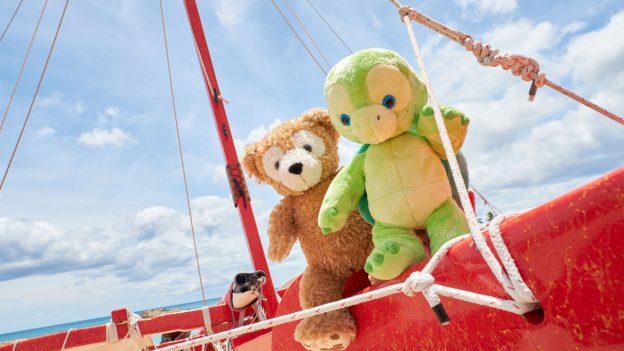 Duffy and his new friend 'Olu