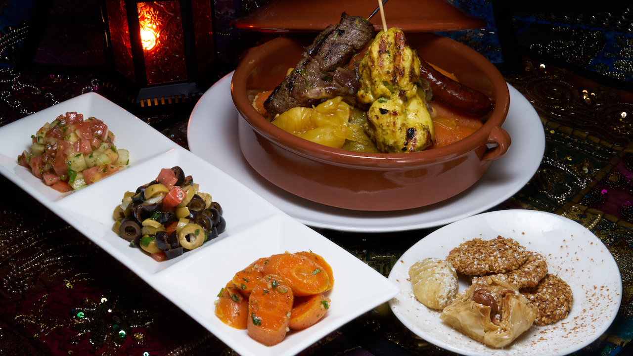 Taste of Morocco at Restaurant Marrakesh at Epcot
