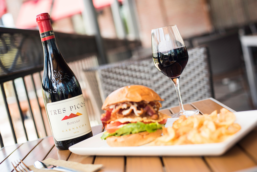 BLT + C at Wine Bar George at Disney Springs
