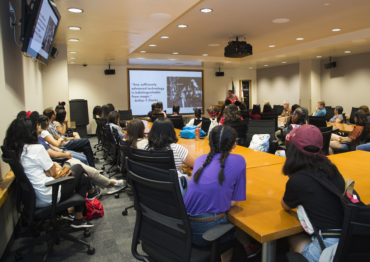 Girls Who Code take part in speaker sessions with leaders across Disney