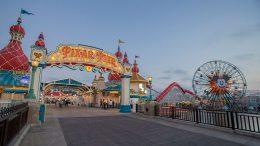 Entrance to Pixar Pier at Disney California Adventure Park