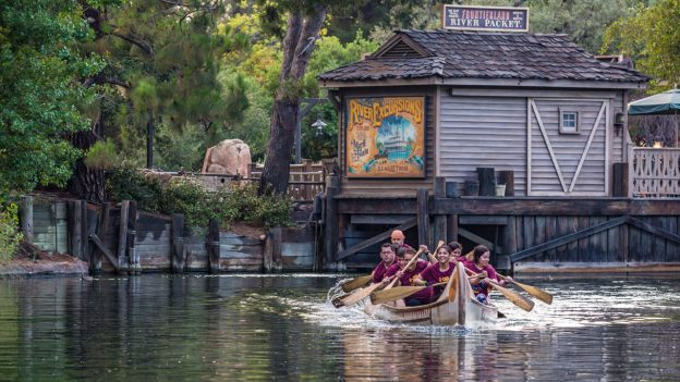 Cast Member Canoe Races at the Disneyland Resort
