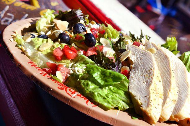 Grilled Chicken Salad at Restaurantosaurus at Disney's Animal Kingdom Theme Park