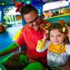 Disney Parks Blog Toy Story Land Celebration guests ride Alien Swirling Saucers