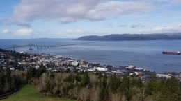 Astoria, Oregon scenic view, Disney Cruise Line