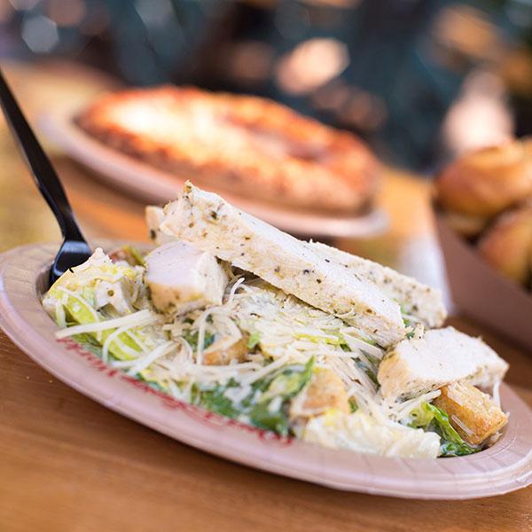 Chicken Caesar Salad at Pizzafari at Disney's Animal Kingdom