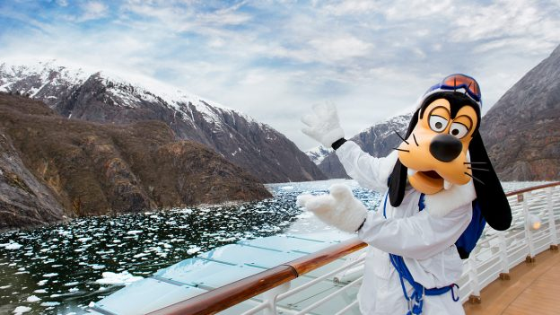 Goofy Aboard the Disney Cruise Line to Alaska