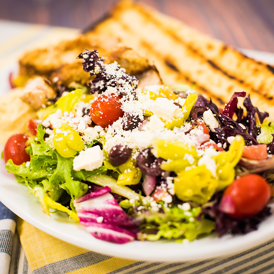 Mediterranean Salad at ABC Commissary at Disney's Hollywood Studios