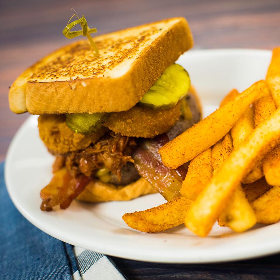 Southwest BBQ Burger at ABC Commissary at Disney's Hollywood Studios