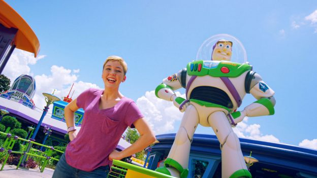'Disney Channel Original Movie 'Freaky Friday' Star Cozi Zuehlsdorff visits Toy Story Land at Disney's Hollywood Studios