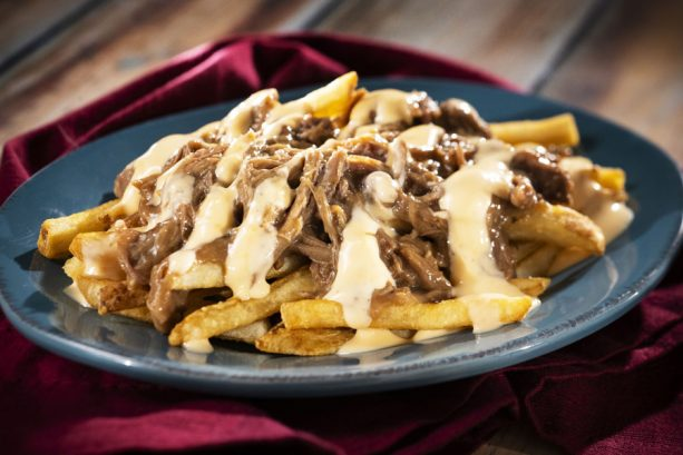 Beef Brisket Poutine at Refreshment Port for the Epcot International Food & Wine Festival