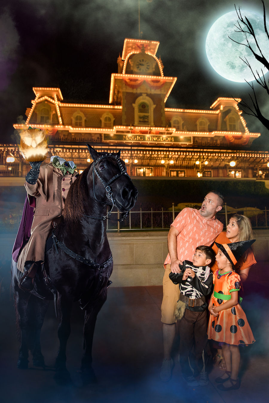 Unearth Exclusive Photo Opportunities During Mickey's Not-So-Scary Halloween Party