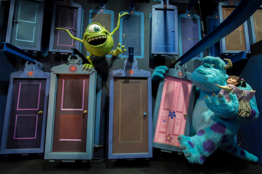 Monsters, Inc. Mike and Sulley to the Rescue! at Disney California Adventure Park