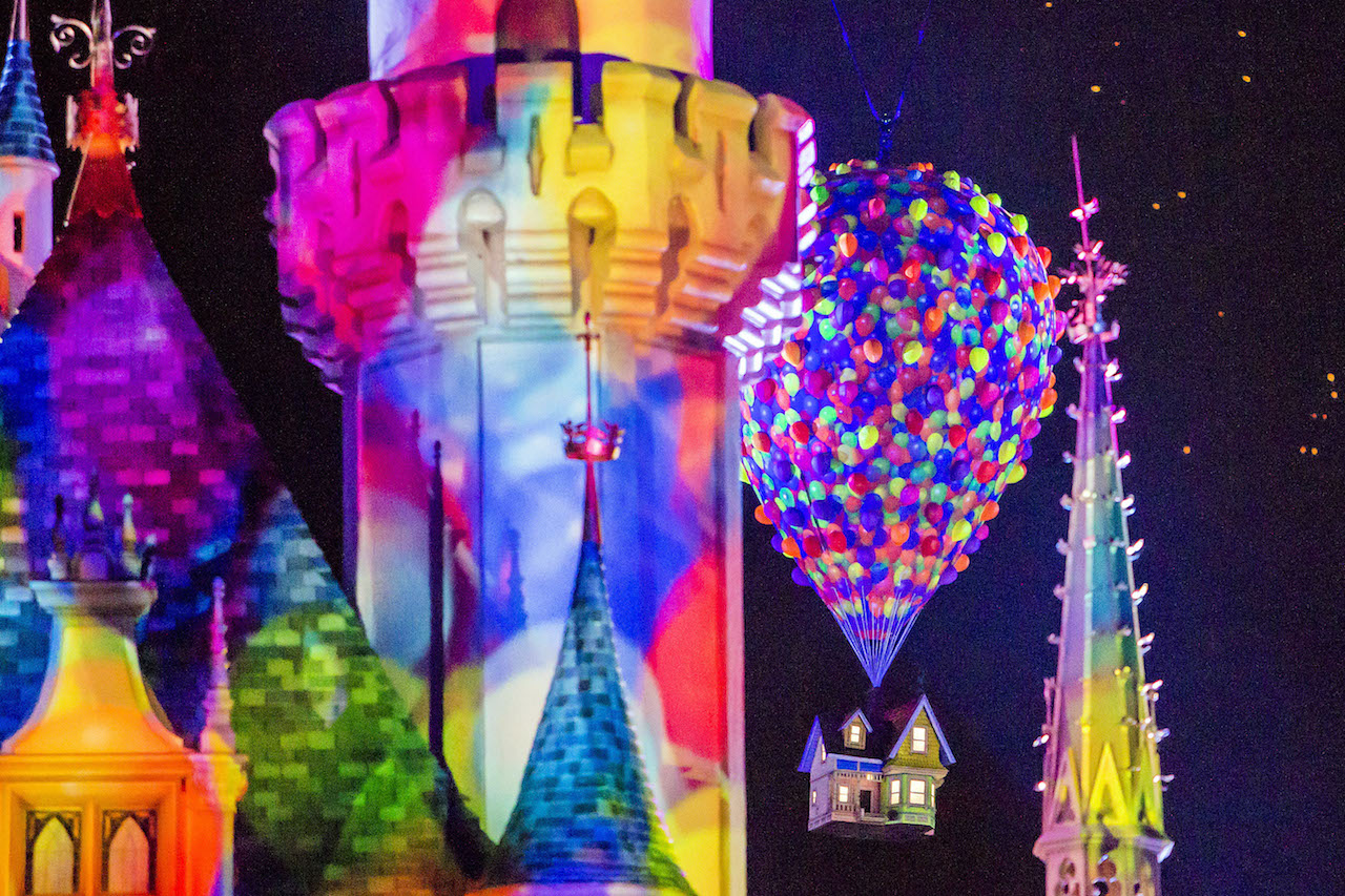 Last Chance to Enjoy 'Together Forever – A Pixar Nighttime Spectacular' at Disneyland
