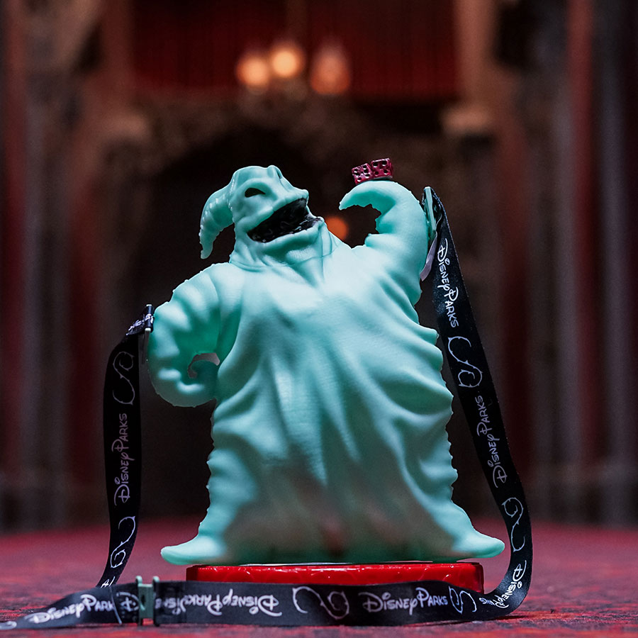 2018 Halloween Oogie Boogie Premium Popcorn Bucket at Disney Parks