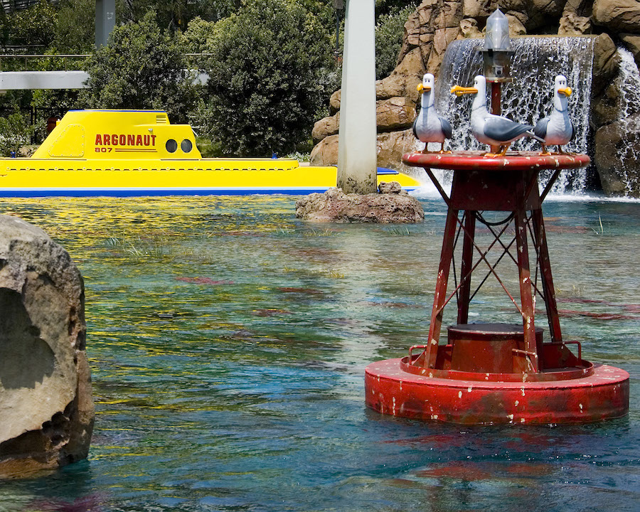 Finding Nemo Submarine Voyage at Disneyland Park