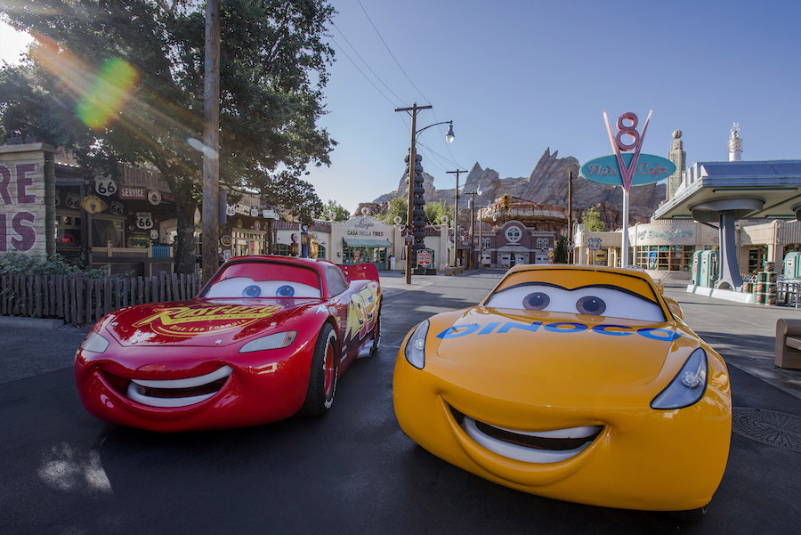 Radiator Springs at Disney California Adventure Park