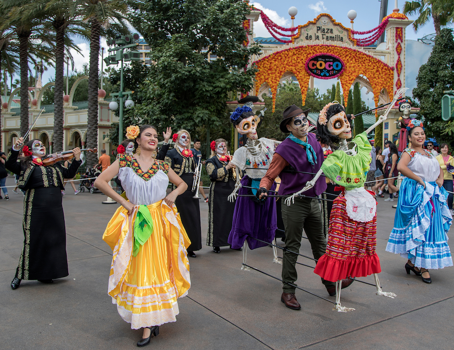 'Plaza de la Familia, a Celebration of Coco' at Disney California Adventure Park