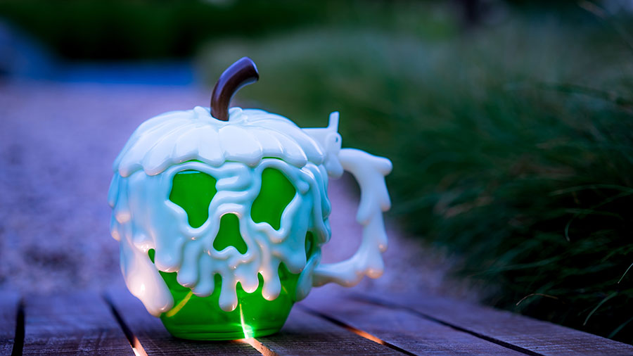 2018 Halloween Green Poison Apple Stein at Disney Parks